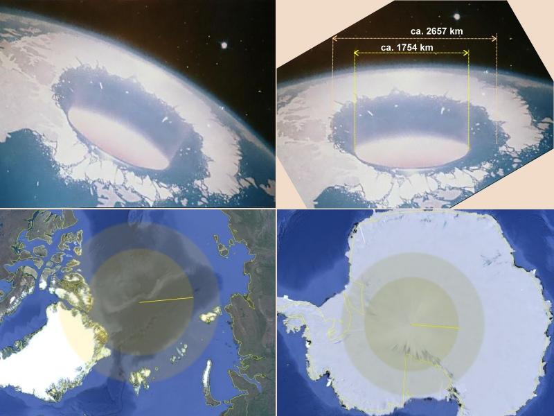 Hohle Erde Beweise